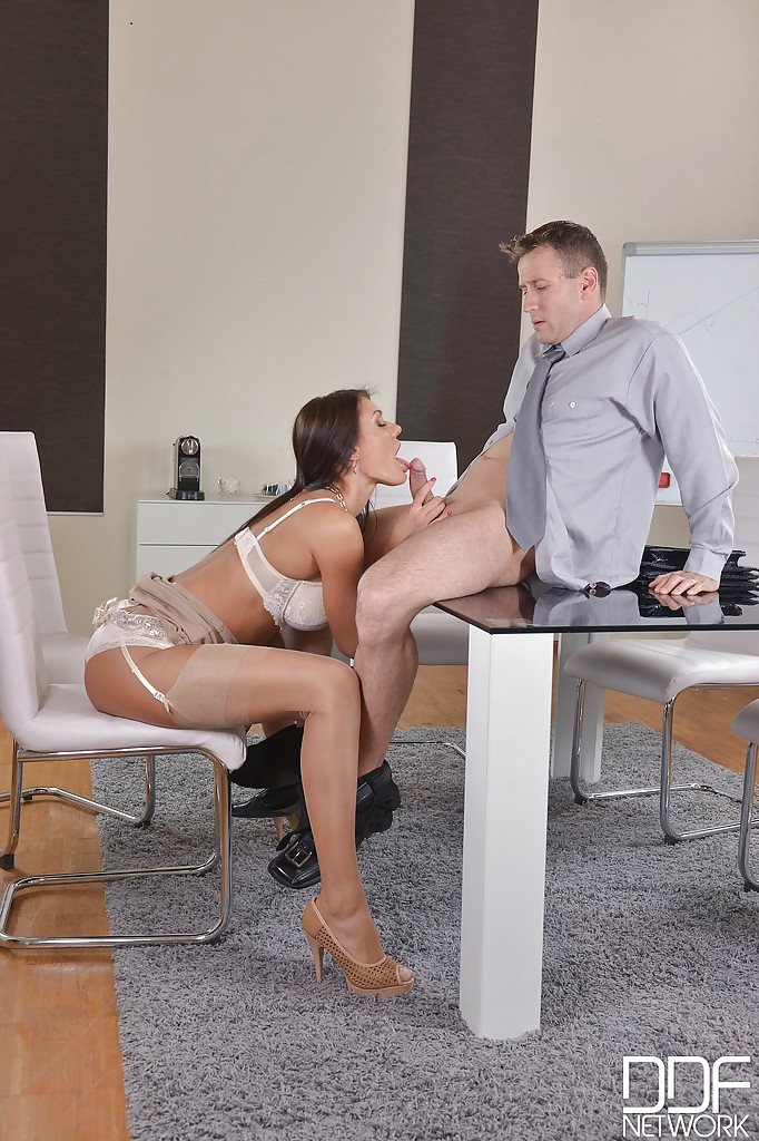 Sex with busty office secretary the word