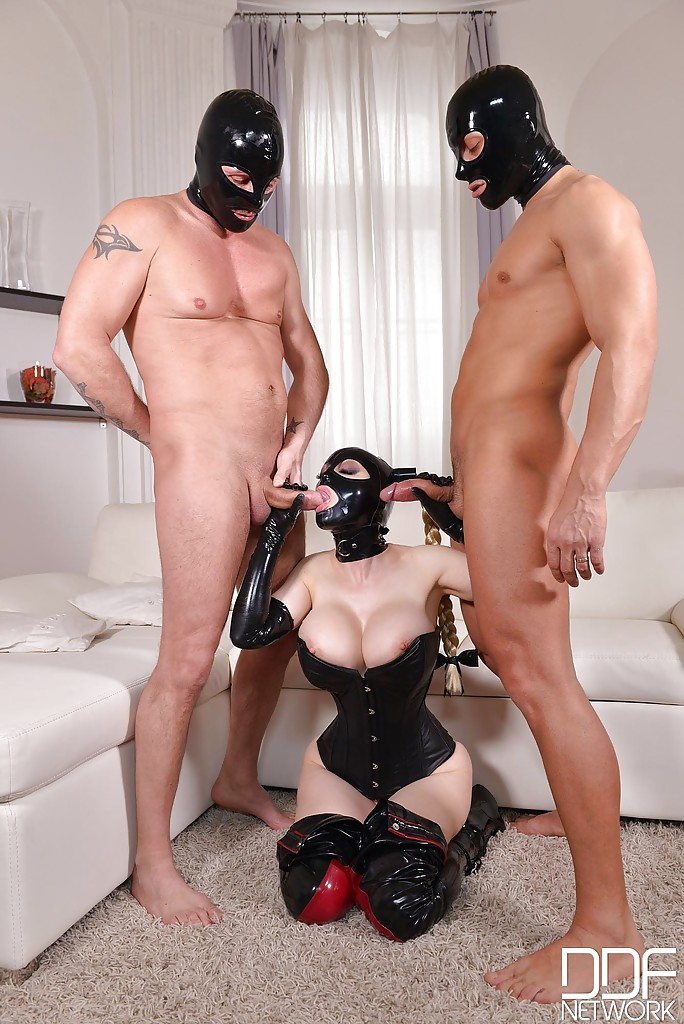 Latex threesome