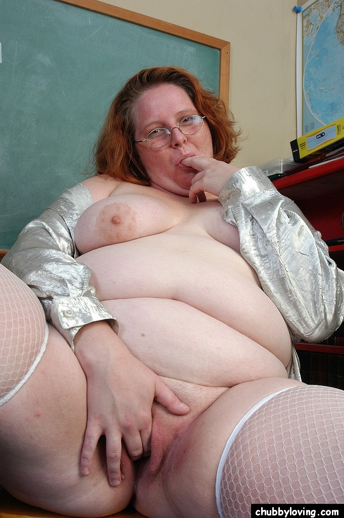 Chubby mature teacher