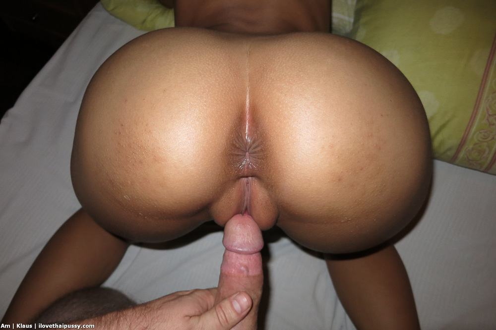 Asian ass cum