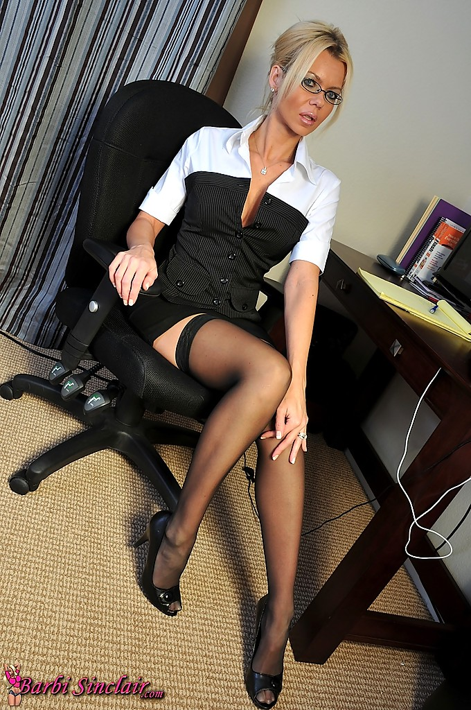 Black milf secretary