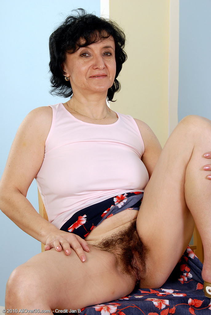 With red naked old mature hairy galleries video