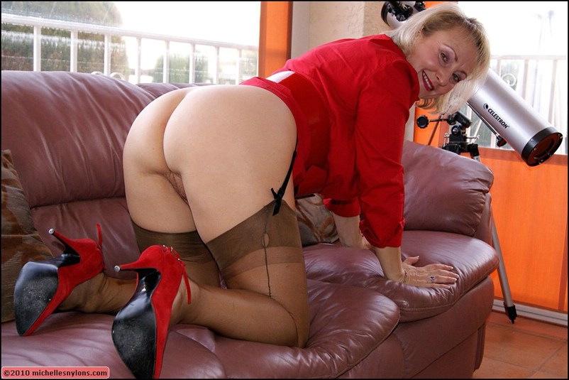 Michelle nylons mature