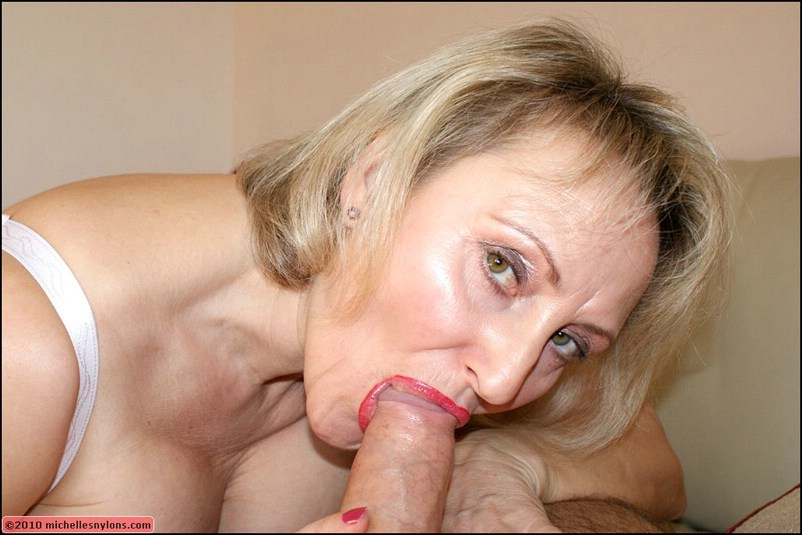 old mature blowjob