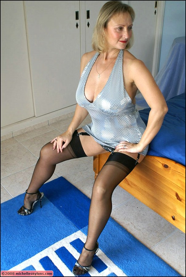 Nylons Mature Stocking Sex Pantyhose