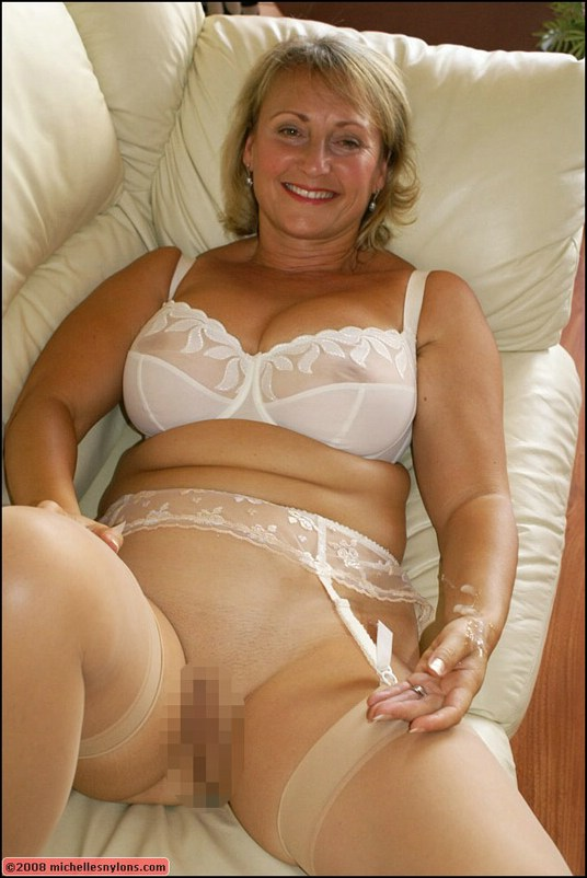 Mature bra pantyhose difficult