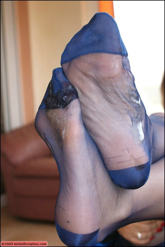 Nylons rht stockings high heels lg 10