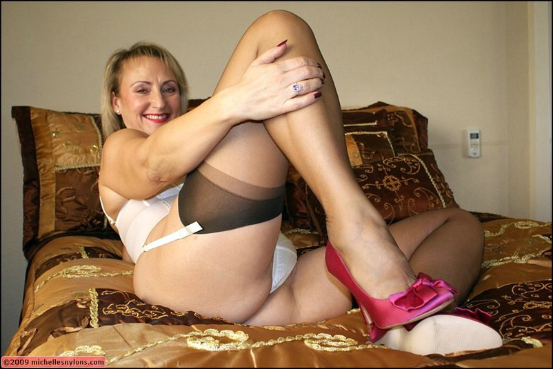 Commit error. Thick mature milf stockings very