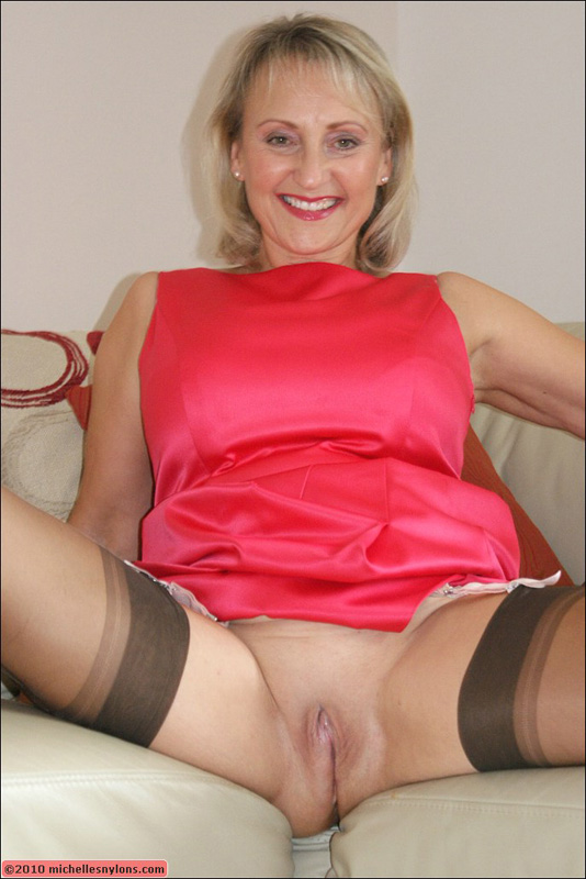 nylon mature Michelle