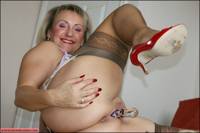 Useful Nylons kinky stocking sex with horny