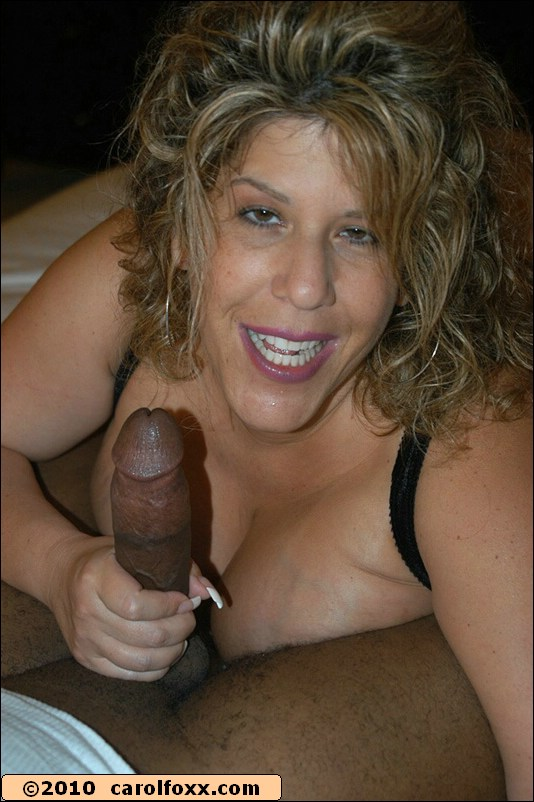 Happy With Her Thick Cock