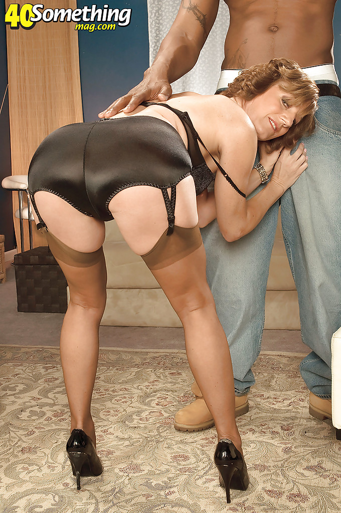 interracial sex in pantyhose