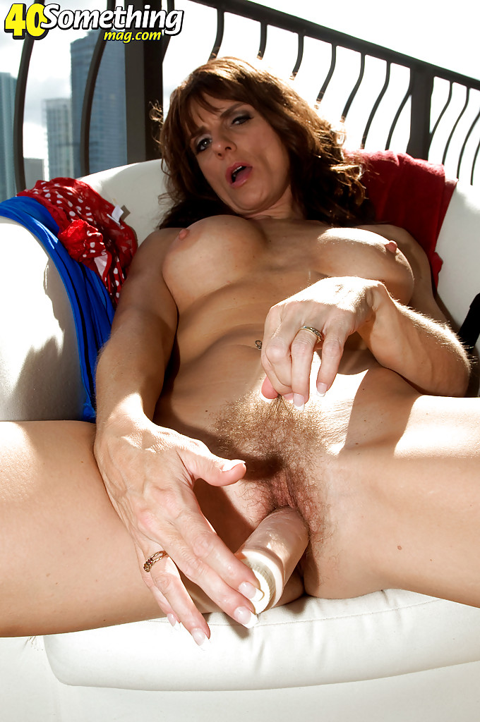 Hairy mature takes a much younger cock - 2 part 2
