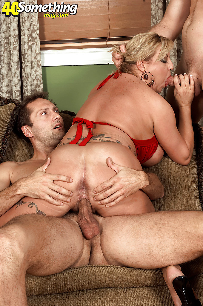 Hot Big Tit Milf Threesome