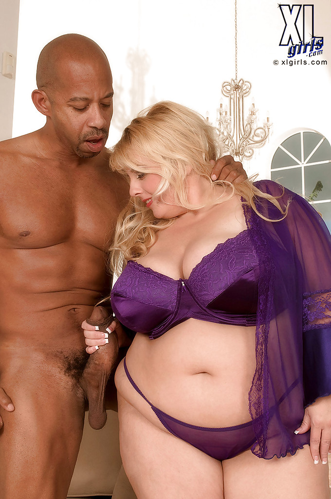 Huge titted black fatty rides white meat 4