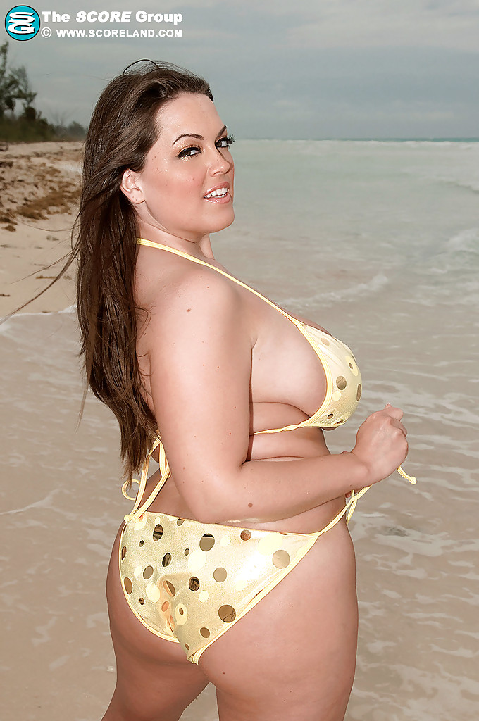 in bathing suits Fat girl
