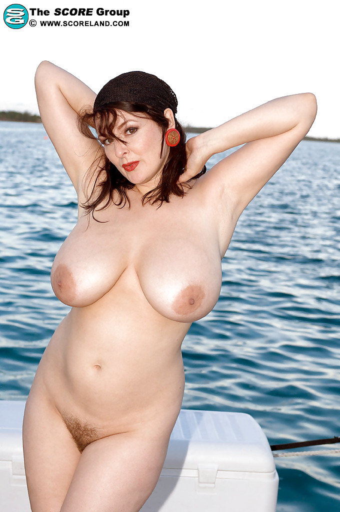 nude Lorna beach morgan