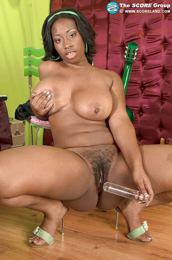 Black girls hairy twat