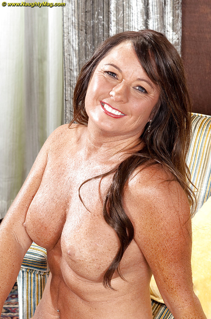 Mature naked freckles