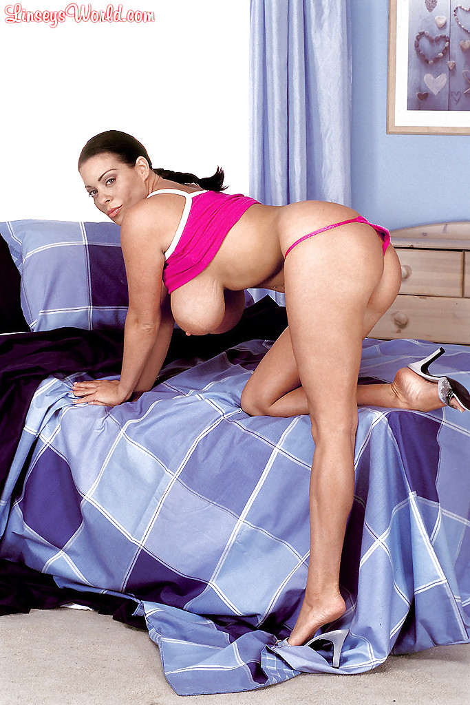 Something is. Linsey dawn mckenzie tight top for the