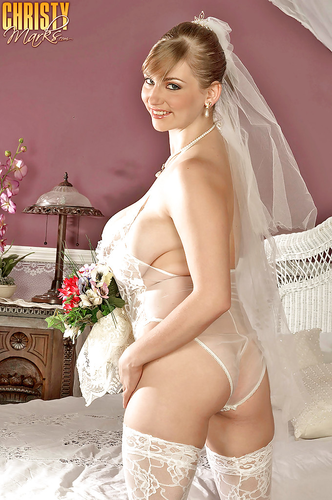 Rather big tit xxx bride