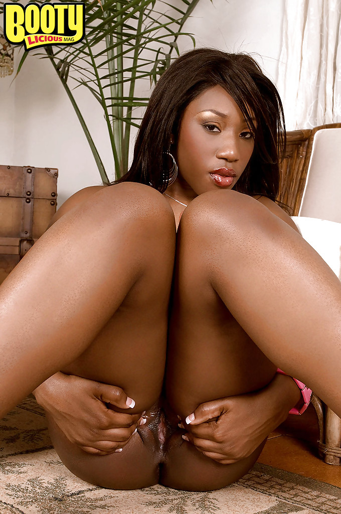 Beautiful black ass and pussy
