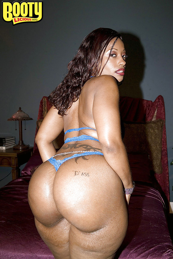 Ebony black big asses