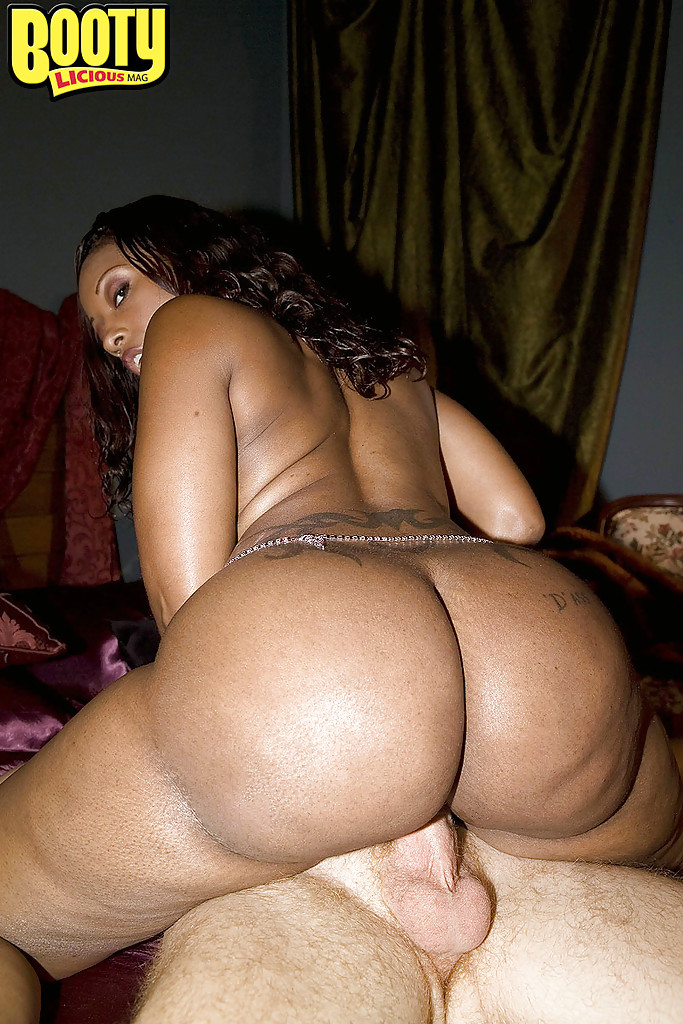 Ebony thick huge ass fucking video