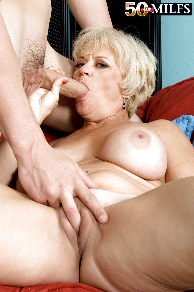 50 yo blonde mature lady hot sex pov - 1 2