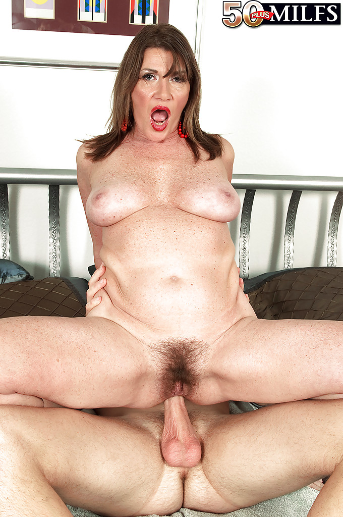 fat hairy milf anal
