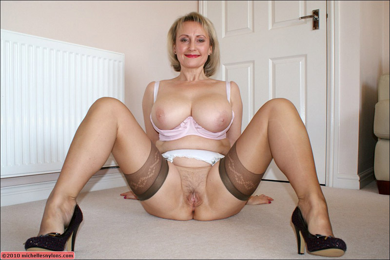 Can speak Blonde mature michelle nylons recommend