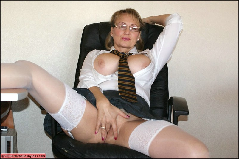 Large Breasts Instockings
