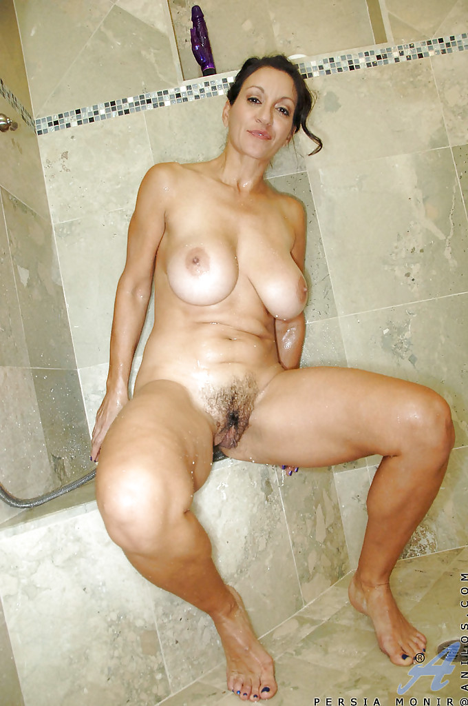 Mature in shower porn
