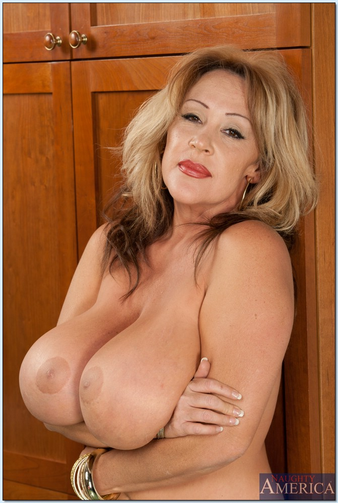 Sexy mature with big tits