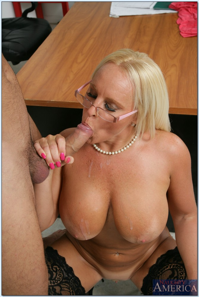 Rather golden mature porn with