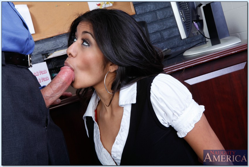 Latina office sex