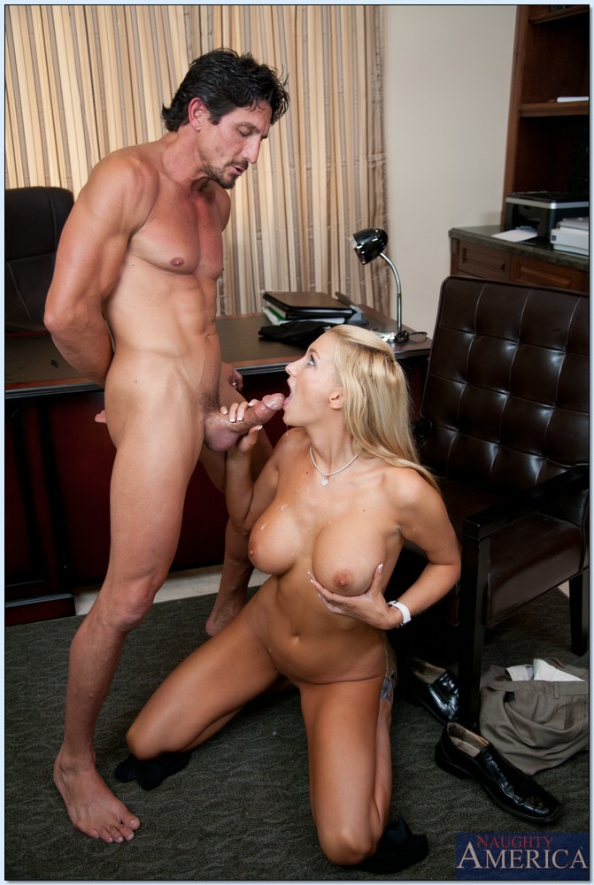 busty wife blake rose gets banged hard core by her boss in