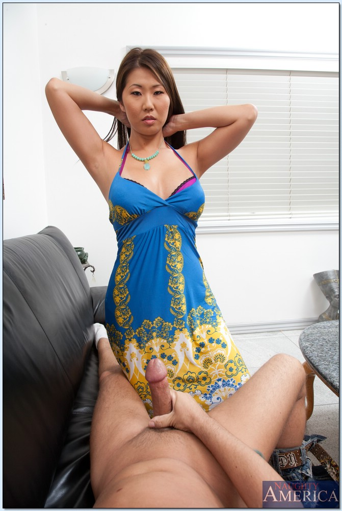 image Petite asian slut fucking while still