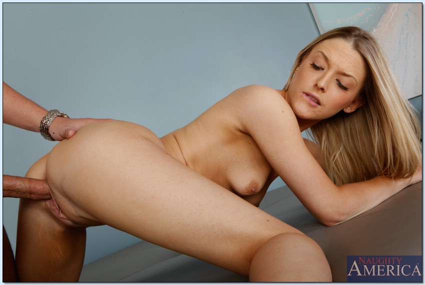 Simply Blonde bent over and fucked think, that