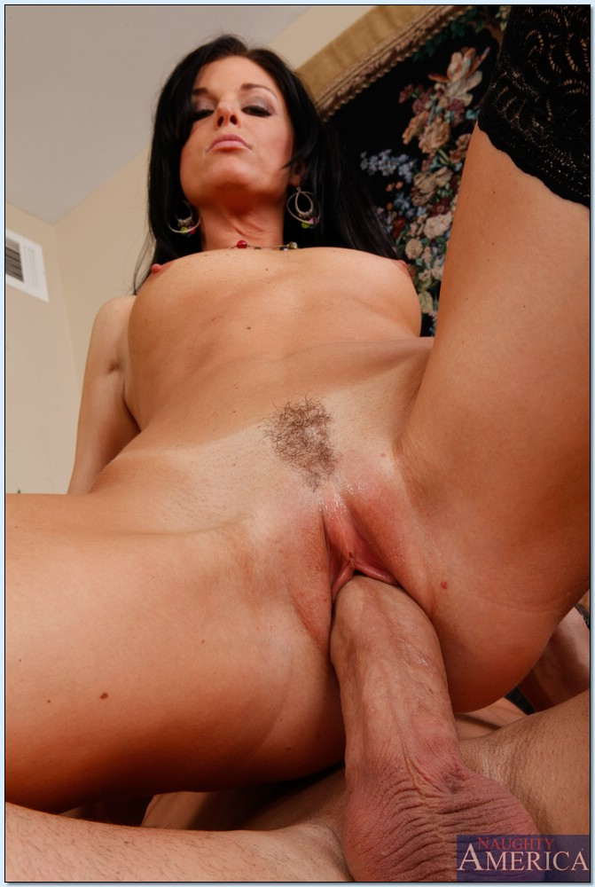 hot milf in stockings india summer gets her cunt fucked in
