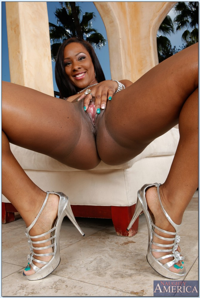 Stunning black ass on camille amore 6