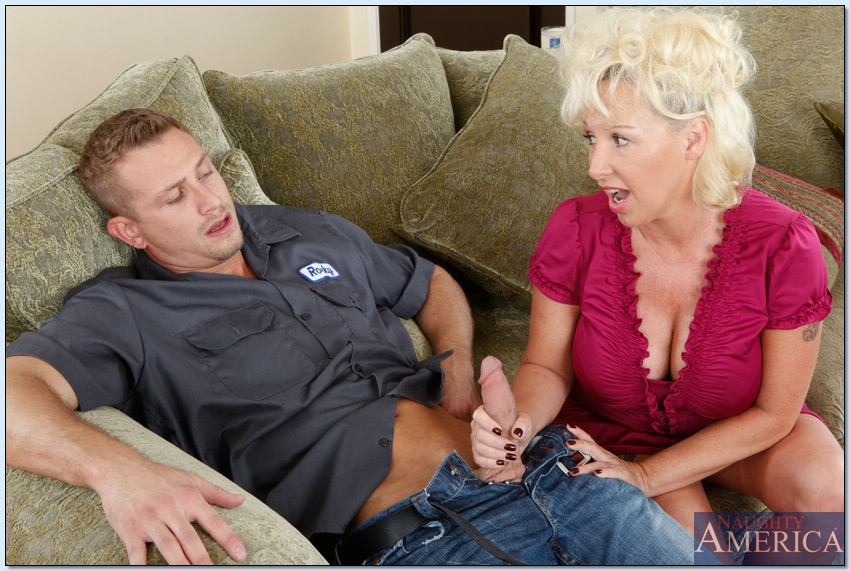 Son having sex with mom and licking her pussy