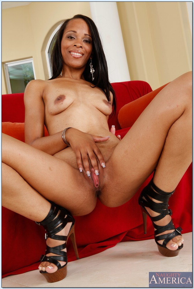 black pink pussy pov - ... Sexy ebony wife Neveah Keyz showing off black ass and pink pussy ...