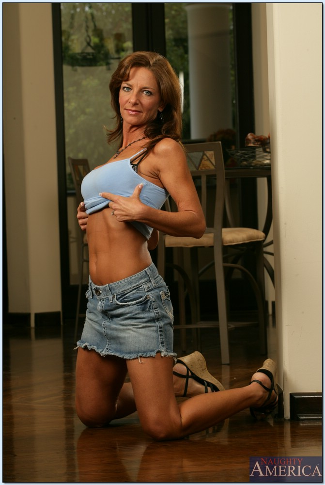 Mature athletic milf