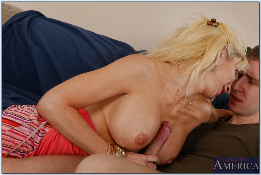 Busty milf morgan fucked and creamed on