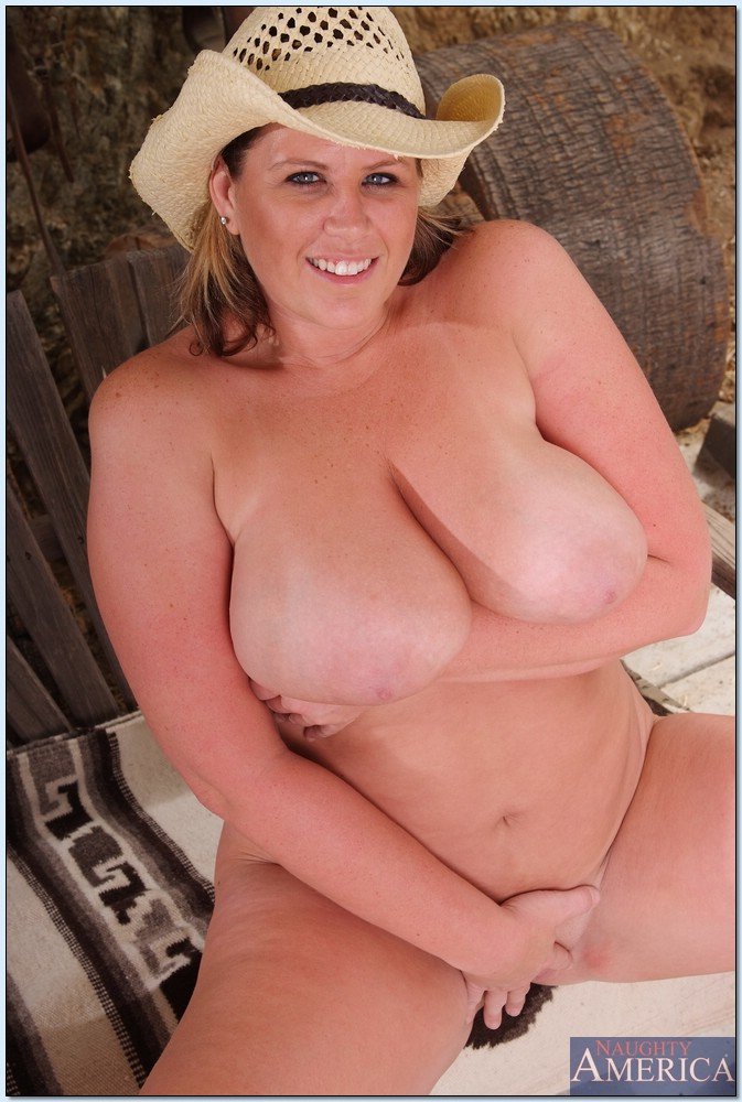 big tits country girl naked