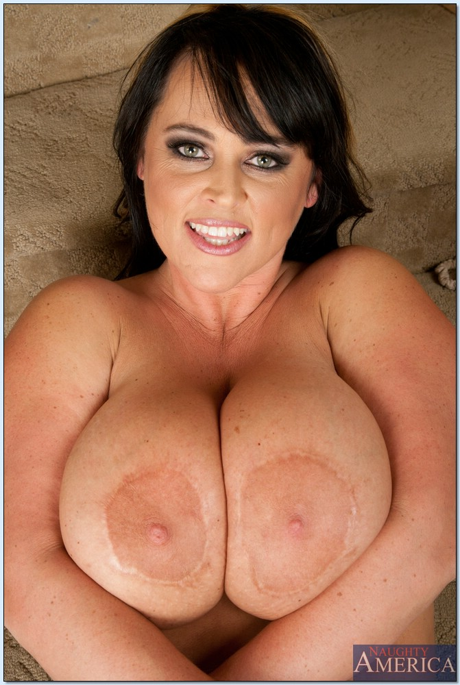 With Huge melons chubby mature women are not