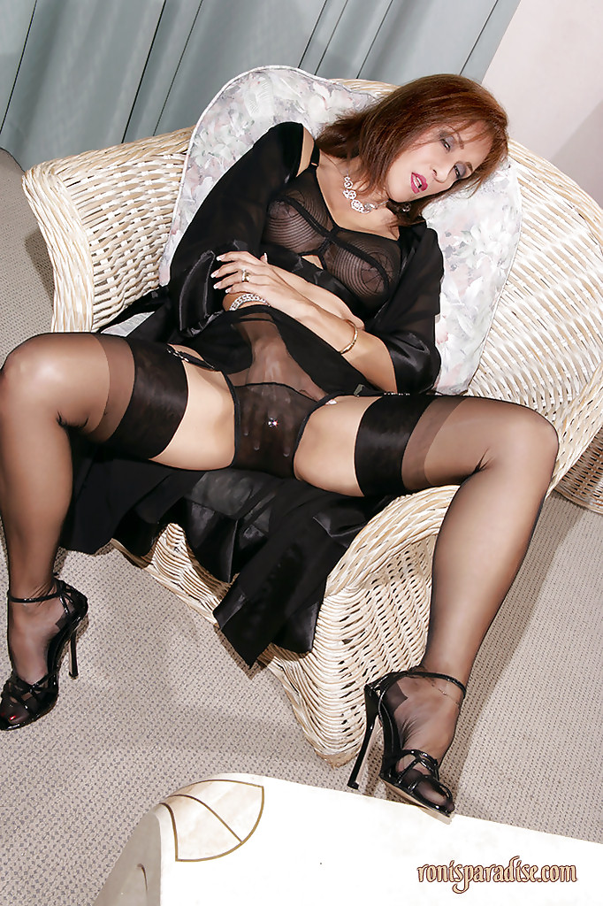 For showing off pantyhose