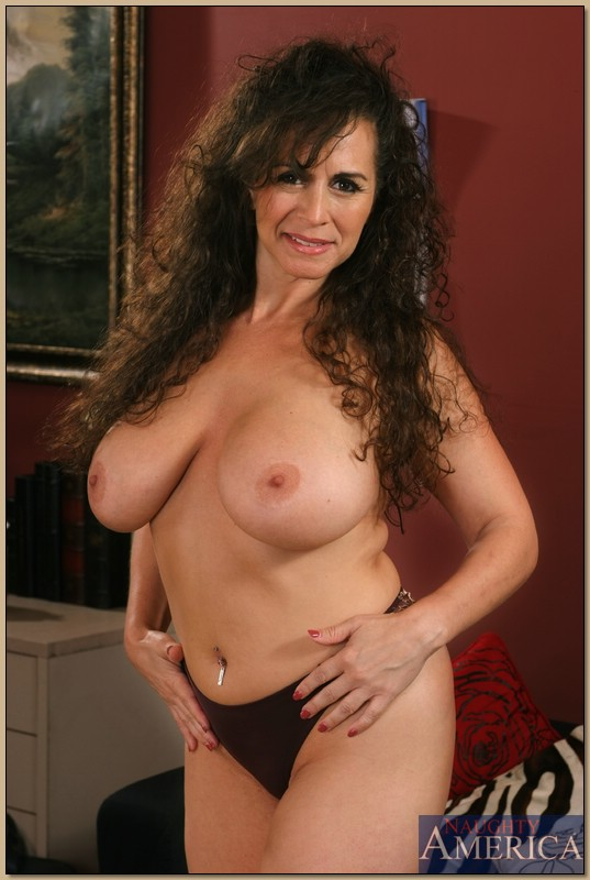 Biggest busty mature tit