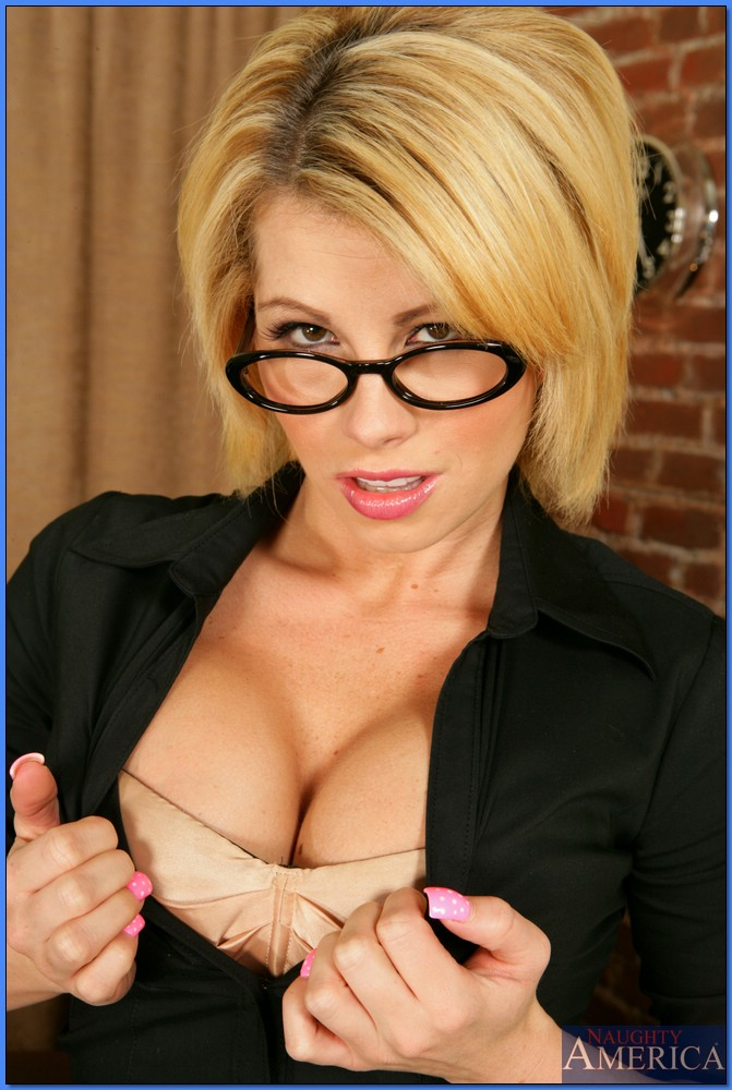 Brooke milf naughty glasses
